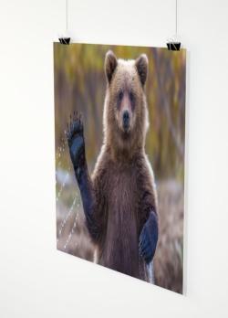 Ihr Foto als Poster 110x110cm