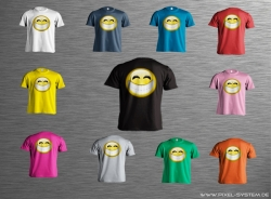 Smiley-Shirt Motiv