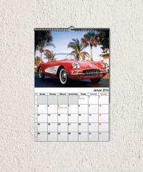 Fotokalender 2017 DIN A4 hoch, Kalendarium 2