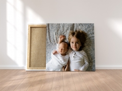 Ihr Bild auf Leinwand gedruckt 110x110cm