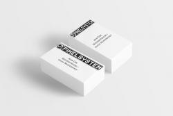 100 Visitenkarten 90x50mm (quer/hoch)