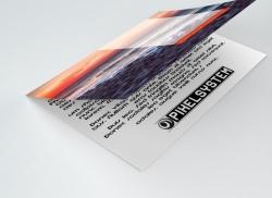 2500 Stück 90g/qm hochwertiger Qualitätsdruck gefalzt auf DIN A6