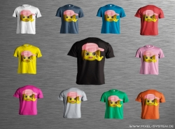 Smiley-Shirt Motiv