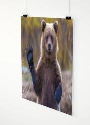 Ihr Foto als Poster 120x120cm