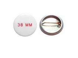 Buttons zum Anstecken (Ø 38mm)